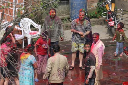 Happy Holi from Nepal