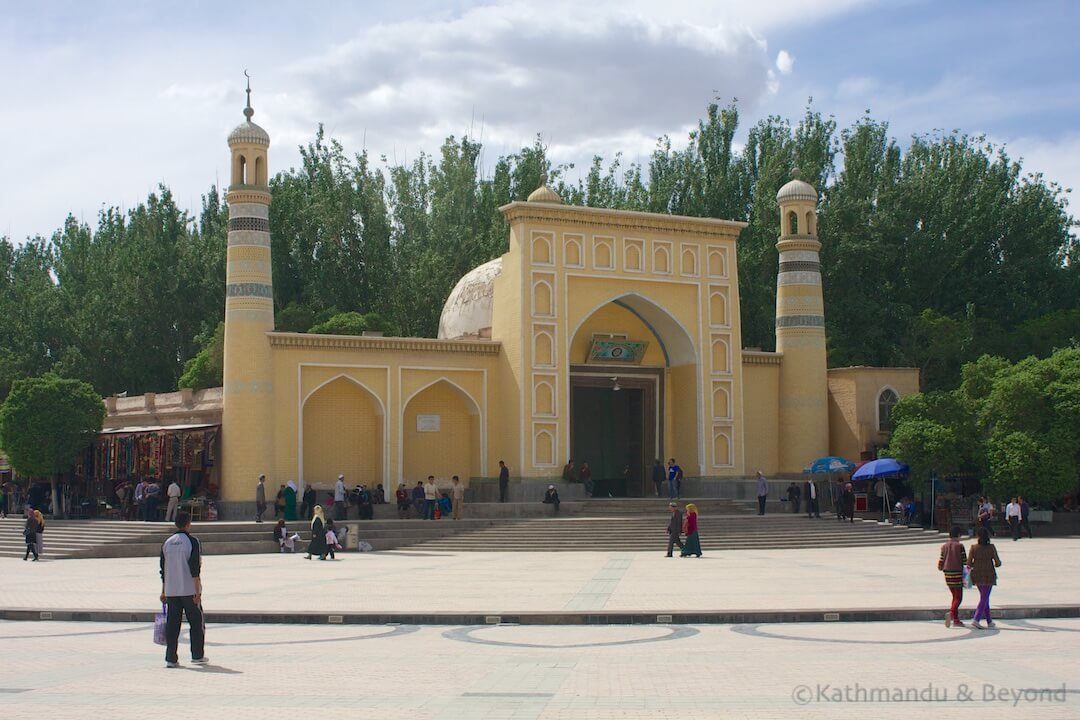 Id Kah Mosque Kashgar China 5 (1)