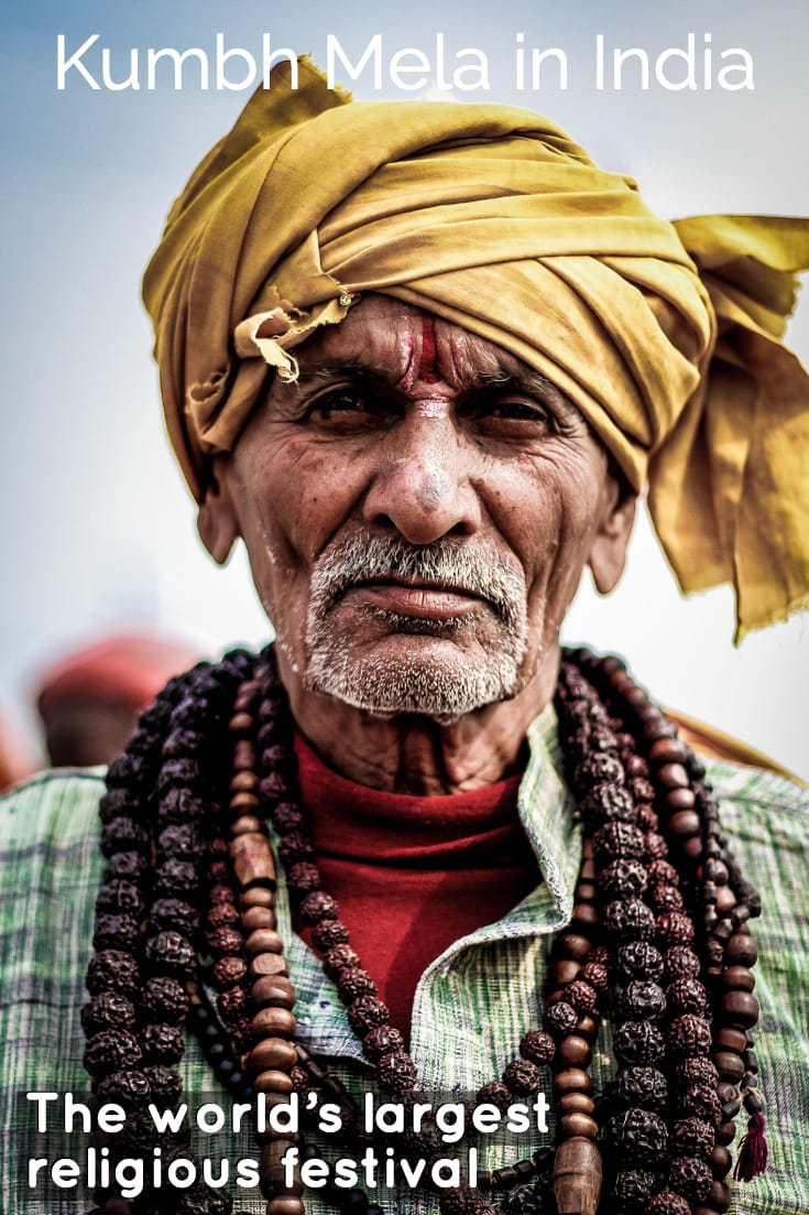 Kumbh Mela Allahabad - India's Greatest Festival #travel #India #festivals #bucketlist #Asia #kumbhmela #indianman #people