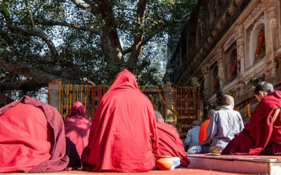 Visiting Bodh Gaya in India, one of the most important Buddhist pilgrimage site