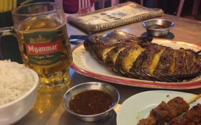 Local Eats at Yangon's 19th Street