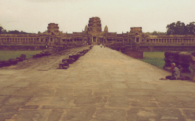 Backpacking in Cambodia in the early '90s