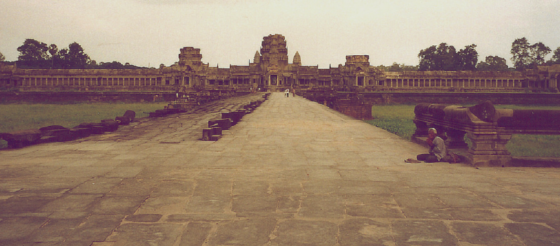 Backpacking in Cambodia in the 1990's