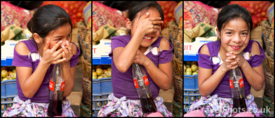 Cocacola Girl El Quiche Guatemala   Travel Shots