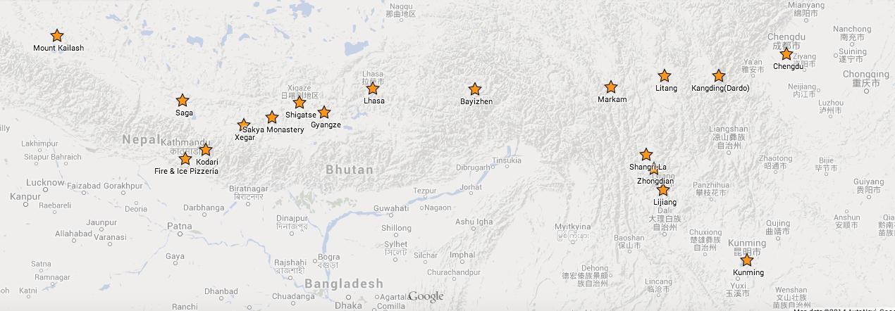 Independent travel in Tibet