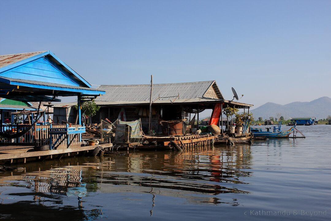 Kompong Chhnang (Chong Kos floating village) Cambodia 9