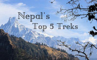 Top Five Treks in Nepal