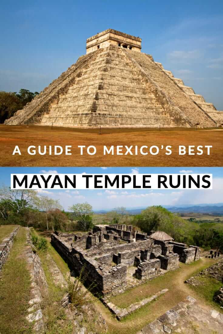 A guide to Mexico's best Mayan temple ruins #travel #southamerica #temples #UNESCO