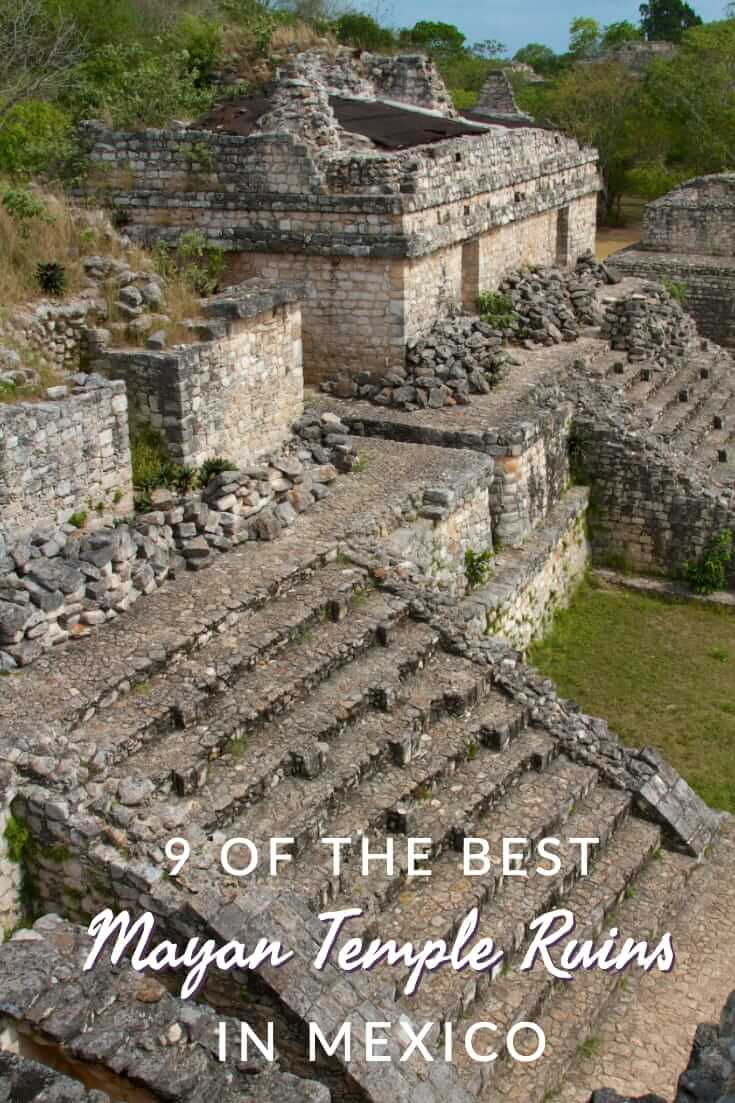 A guide to nine of the best Mayan ruins in Mexico #travel #southamerica #temples #UNESCO