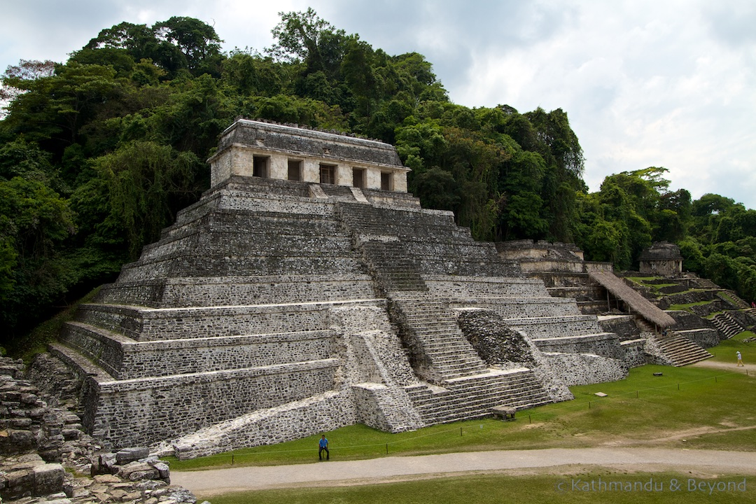 Temple of the Inscription Palenque Mexico - the best Mayan ruins in Chiapas