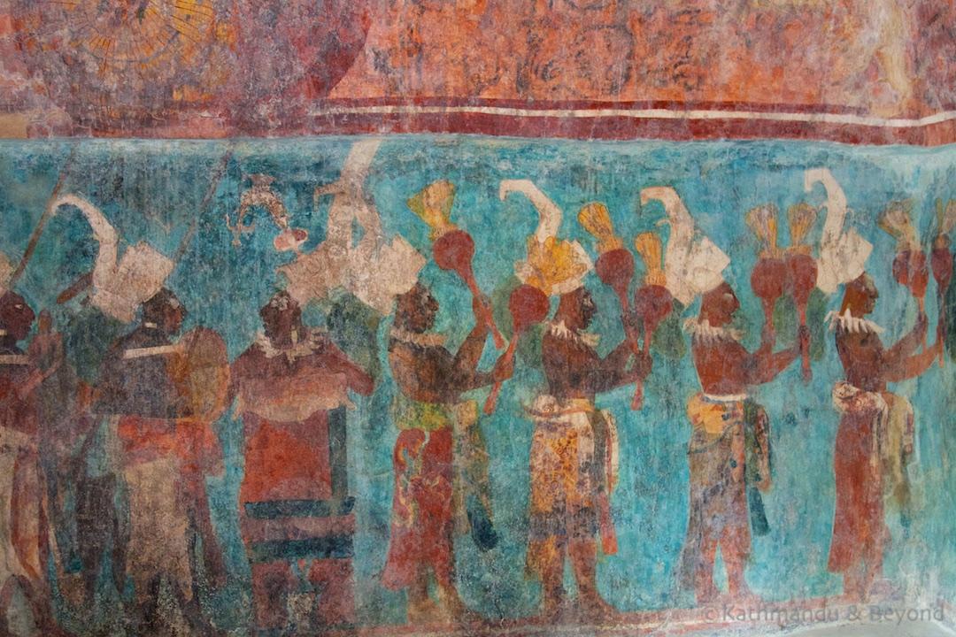 Templo de las Pinturas Bonampak Mexico (3)