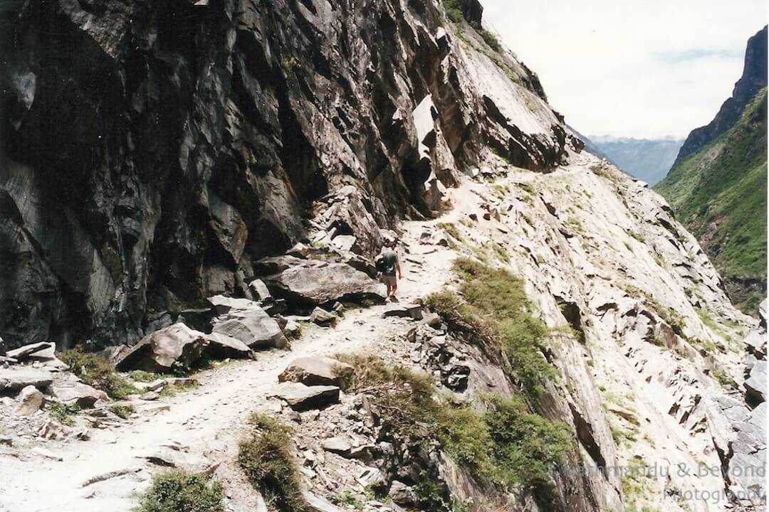 Tiger Leaping Gorge Yunnan Aug 1995