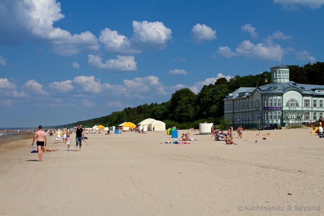 Majori Beach Jurmala Latvia