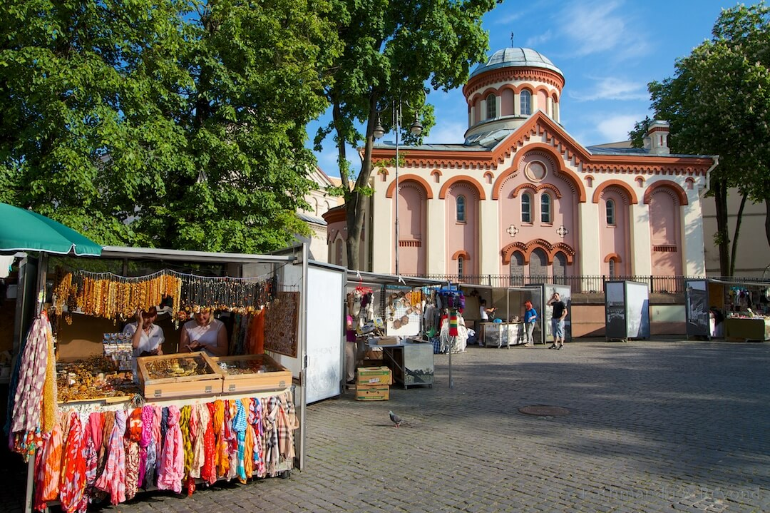 St. Paraskeva Church Old Town Vilnius Lithuania