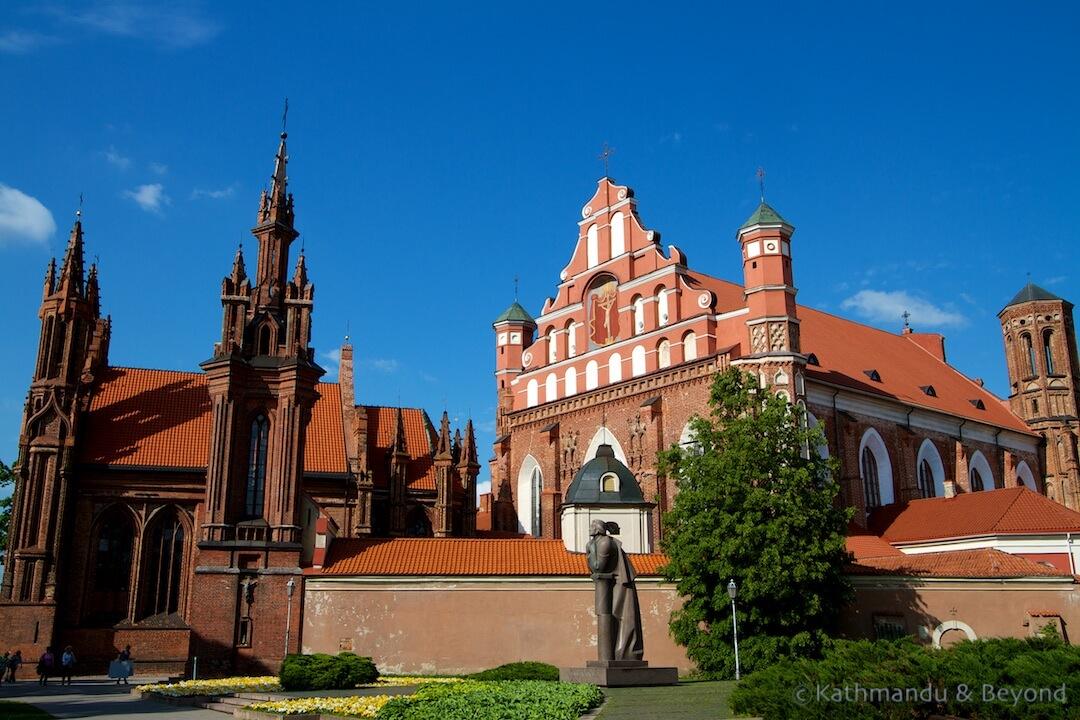 St.Anne and Bernardine Church Ensemble Vilnius Lithuania