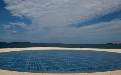 Travel Shot | Sun Salutation in Zadar, Croatia