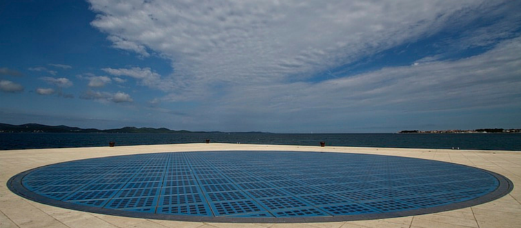Greetings to the Sun | Sun Salutation Zadar Croatia