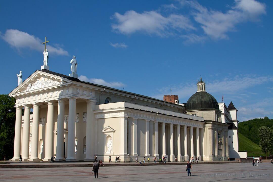 Vilnius Cathedral Vilnius Lithuania (4)