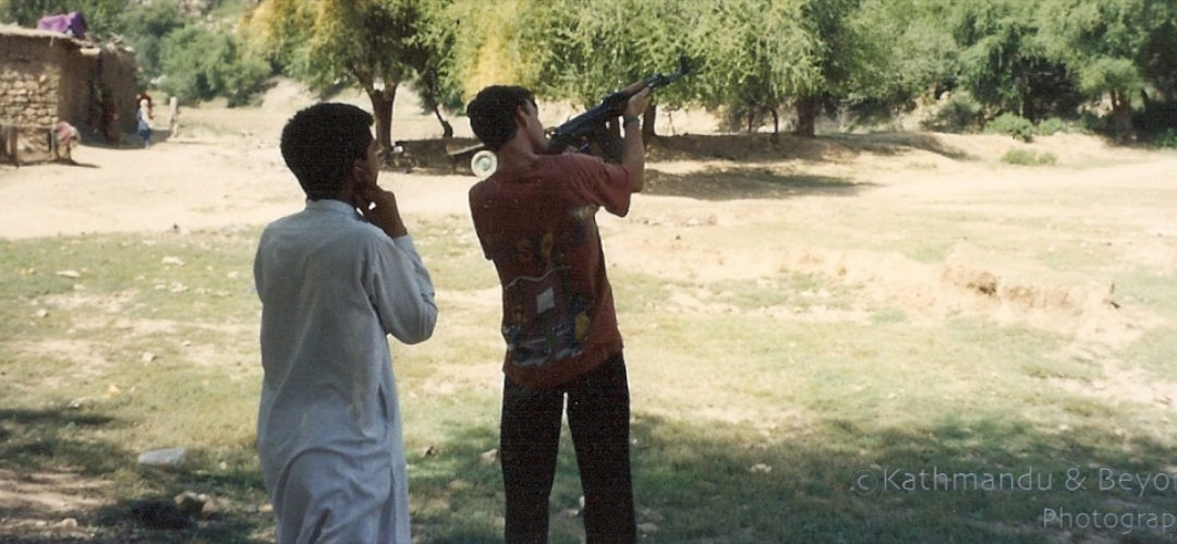 Friday Flashback | Shooting a Kalashnikov rifle in Pakistan's North-West Frontier