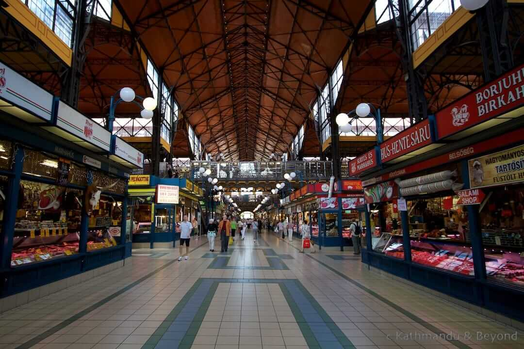 Great Market Hall Pest Budapest Hungary