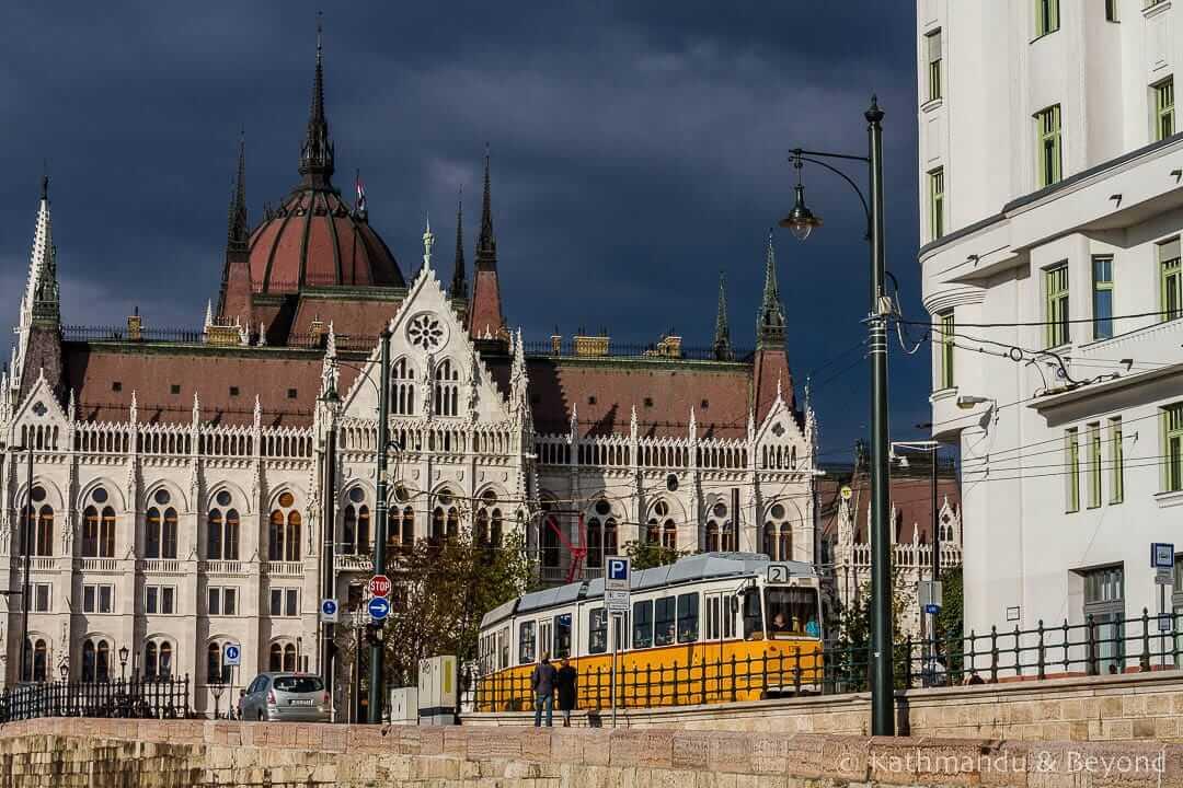 Hungarian Parliament Building Pest Budapest Hungary-1-2