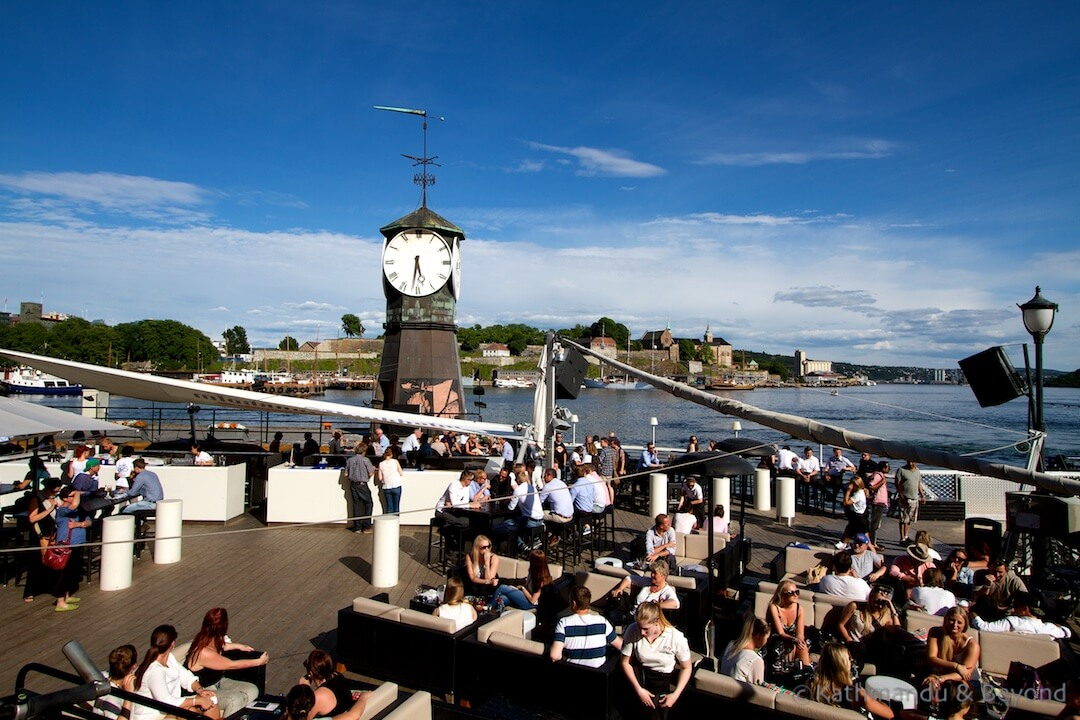 Aker Brygge Oslo Harbour Oslo Norway