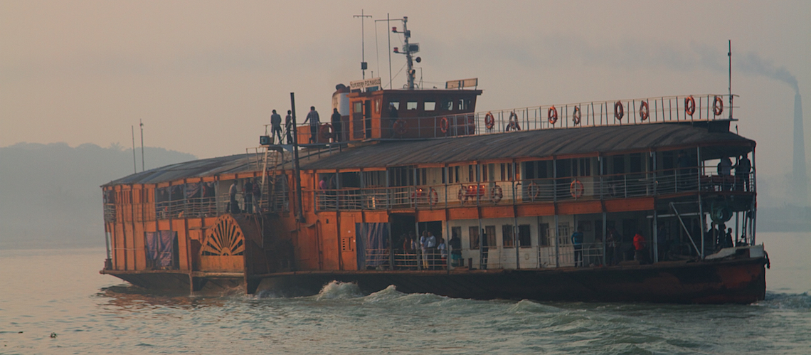 Travelling by Rocket Paddle Steamer Bangladesh
