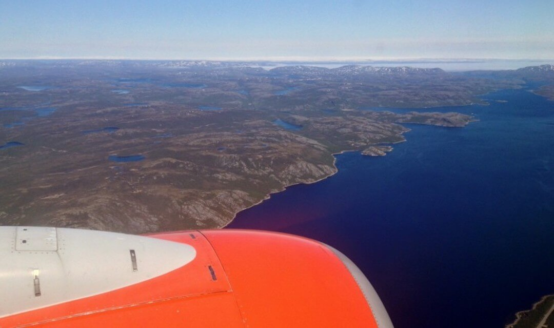 Oslo to Kirkenes flight (1)