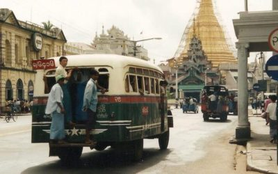 Friday Flashback | Yangon then and now | Myanmar