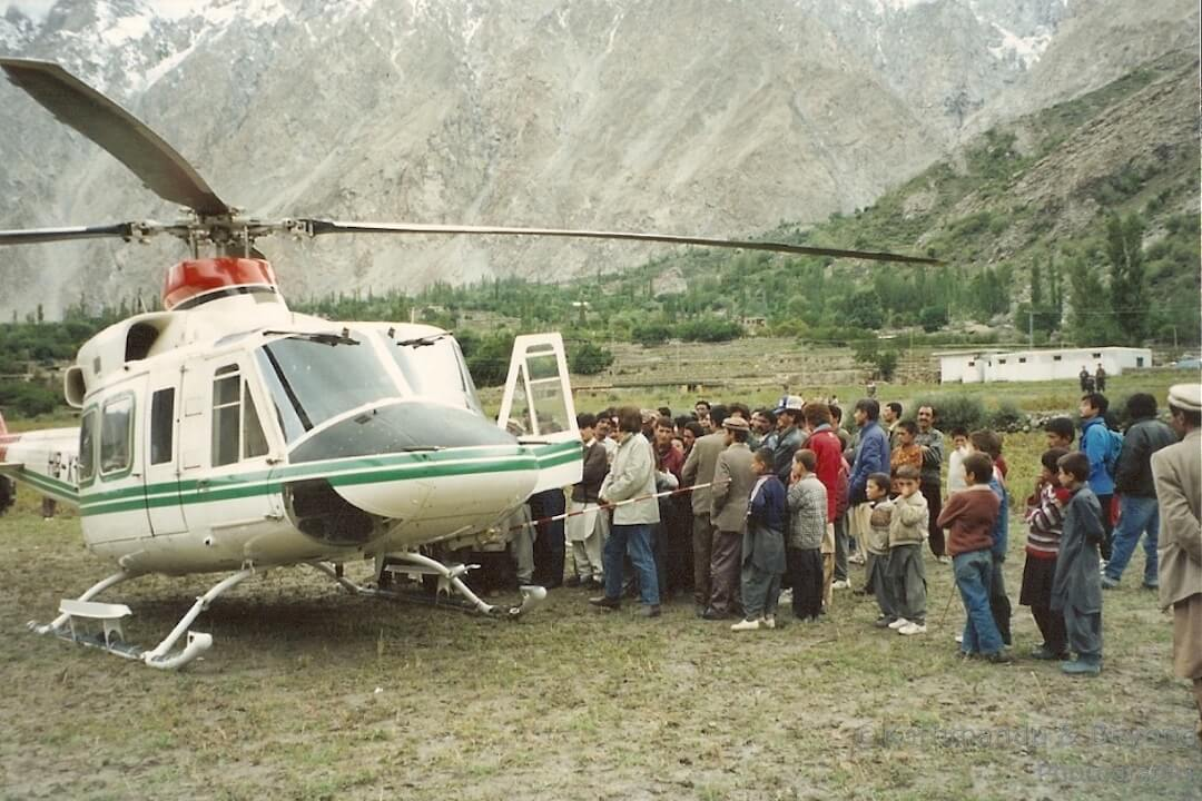 Hunza Valley Pakistan Sept 1992-3
