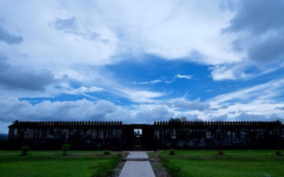 Travel Shot | Moody sky at Ratu Boko Palace near Yogyakarta | Indonesia