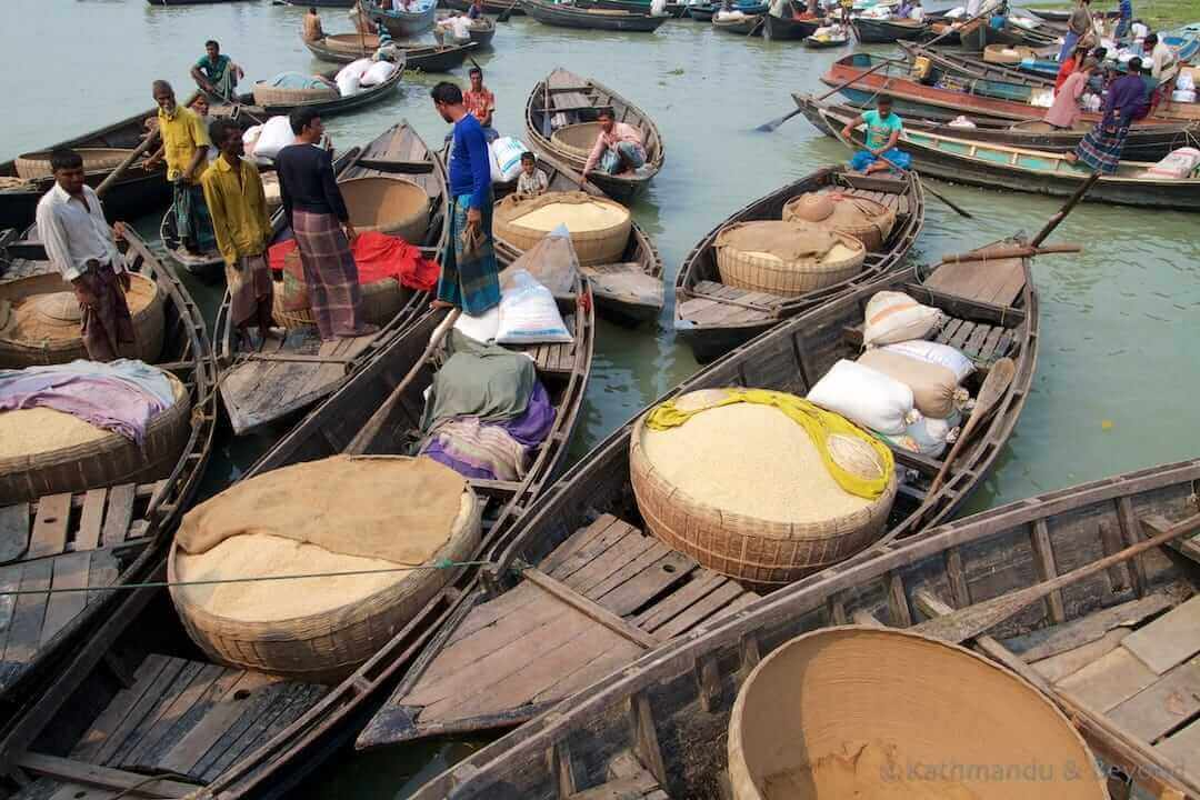 Rice Market Banaripara Bangladesh (5)