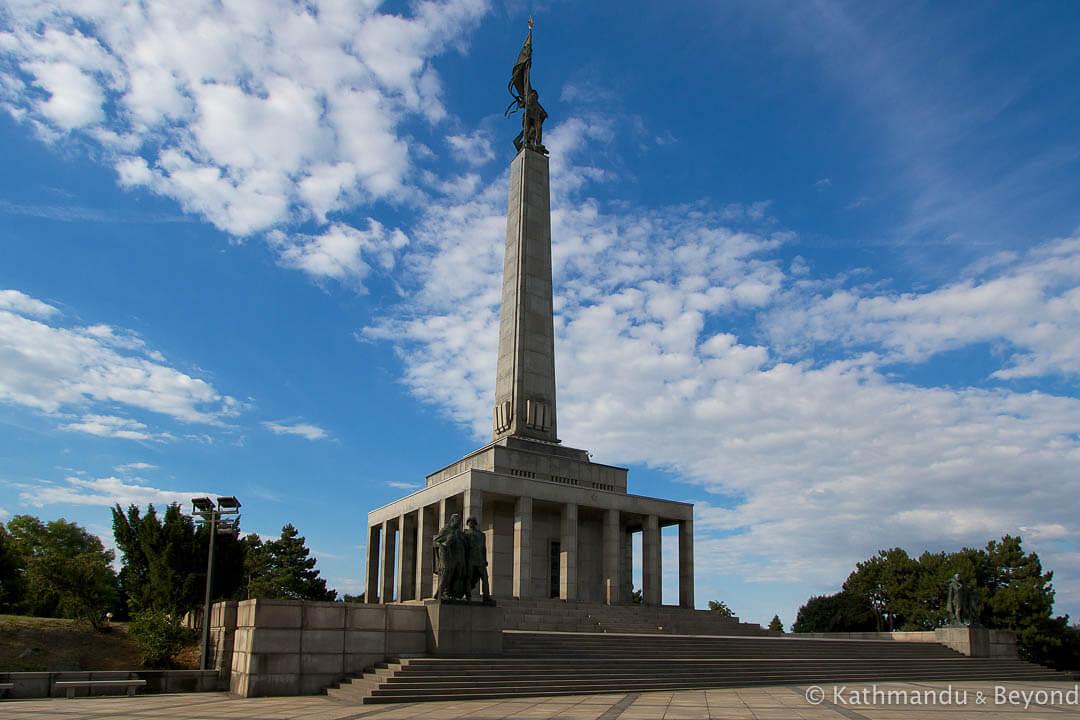 Slavin War Memorial Bratislava Slovakia copy