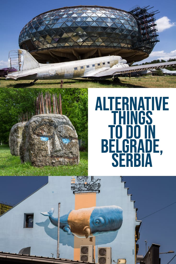 Travel guide including alternative things to do in Belgrade, Serbia #travel #europe #balkans #traveltips #alternative