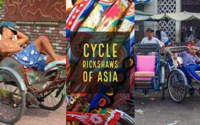 Cycle Rickshaws: An Asian Icon