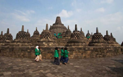 The best temples near Yogyakarta in Java, Indonesia