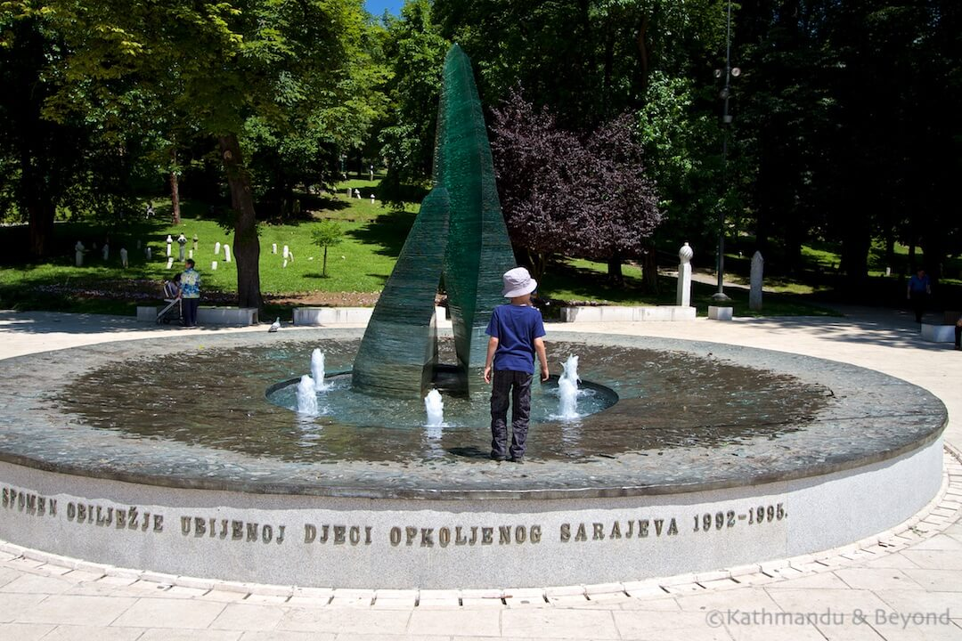 Wartime Memorial for Children Sarajevo Bosnia and Herzegovina