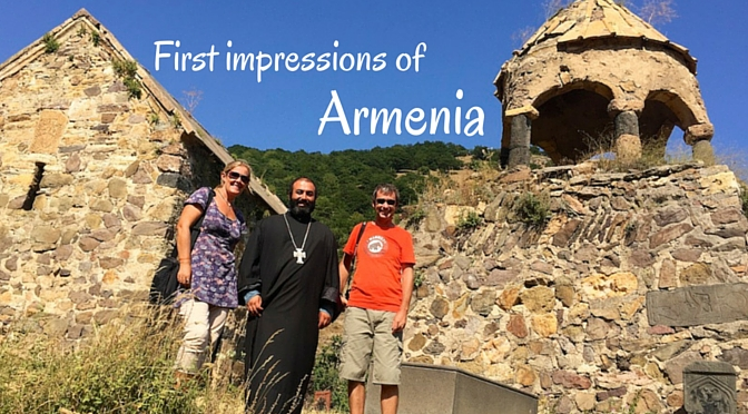 First impressions of Armenia