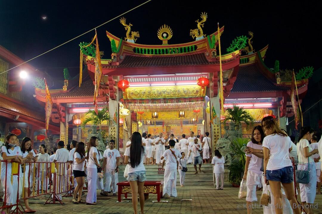 Jui Tui Shrine Phuket Town Phuket Thailand
