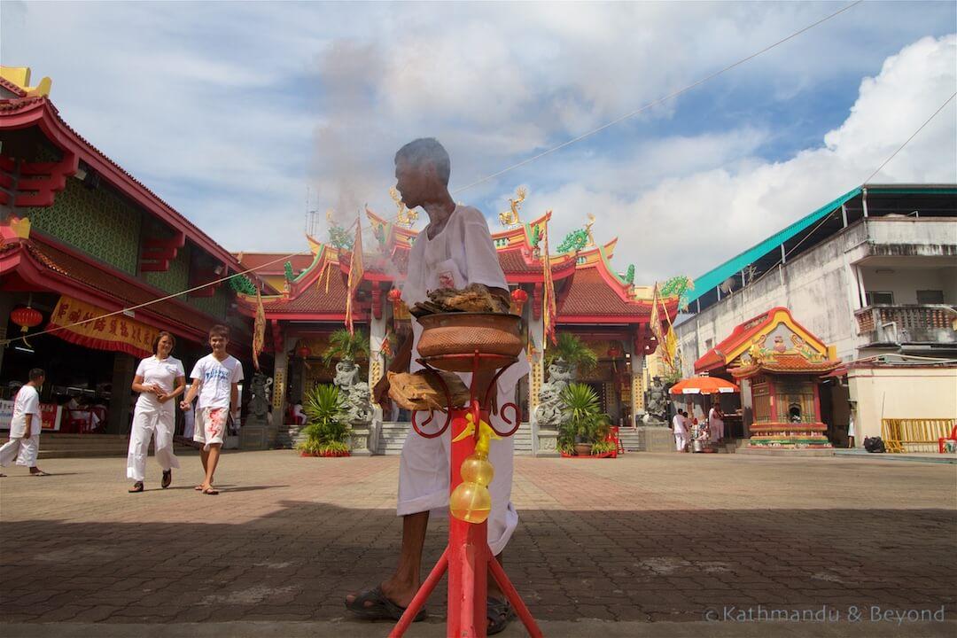 Phuket Vegetarian Festival | Jui Tui Shrine Phuket Town Phuket Thailand