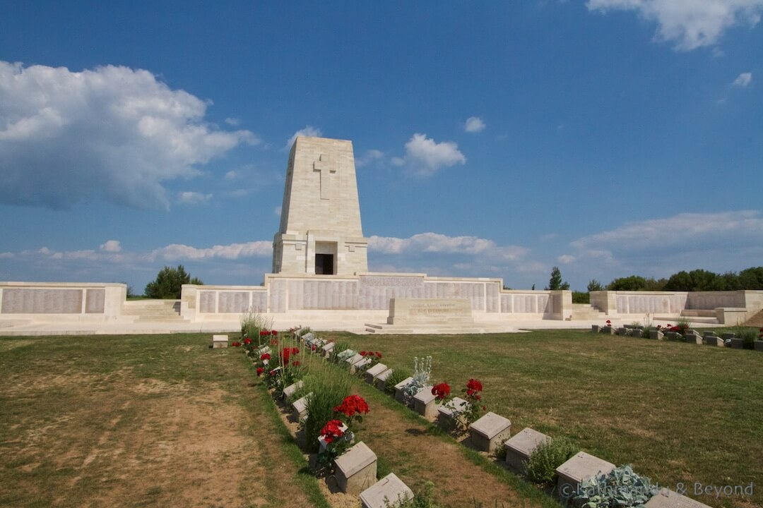 Lone Pine Cemetery ANZAC Battlefields Gallipoli Peninsula Turkey