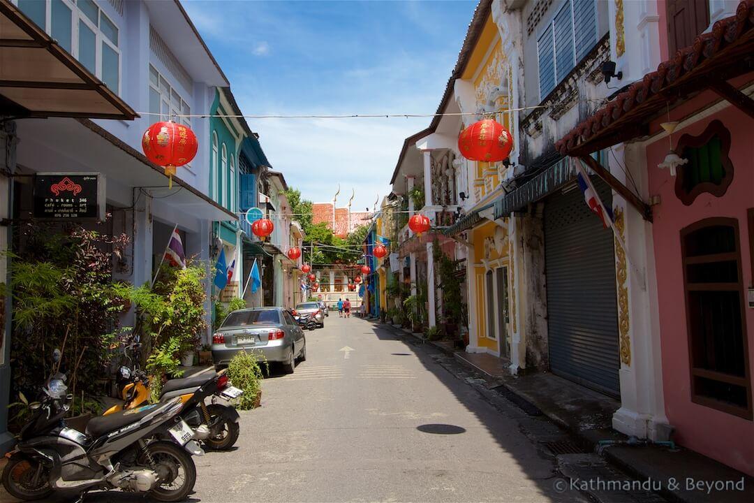 Phuket Old Town Phuket Thailand (2)