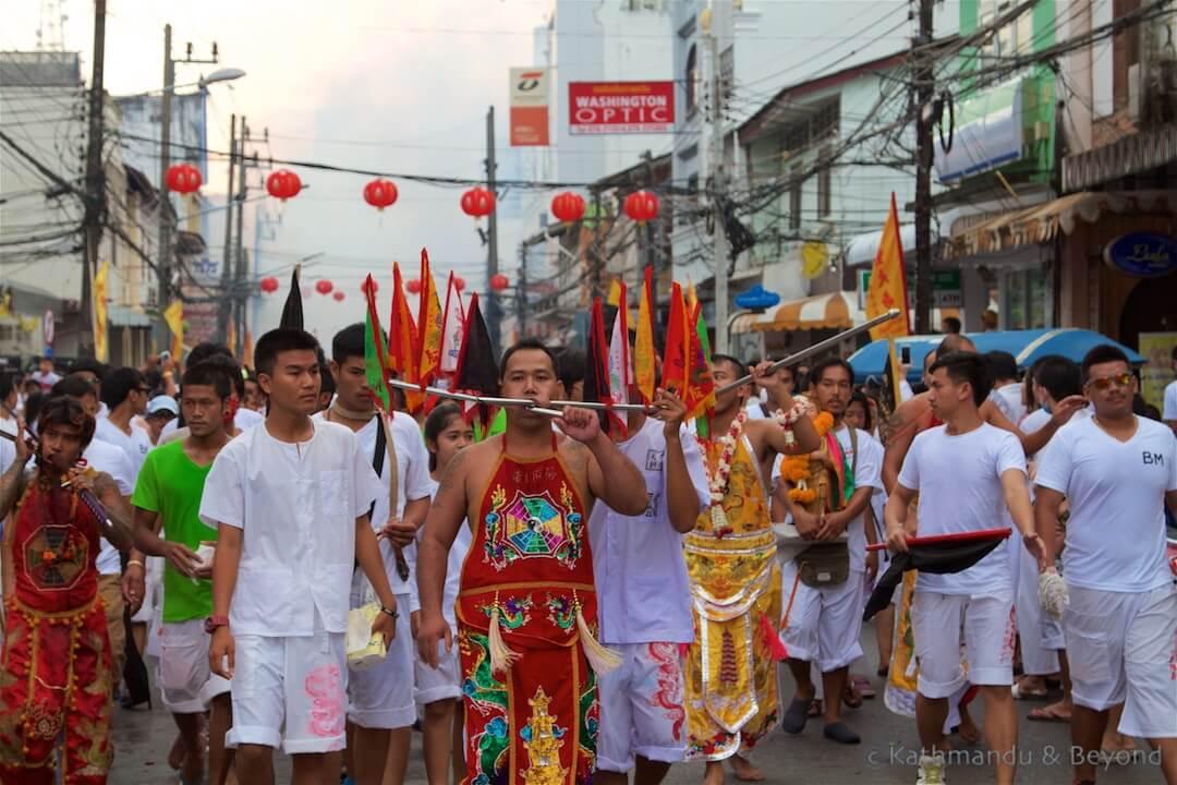 Phuket Vegetarian Festival | Phuket Town Thailand