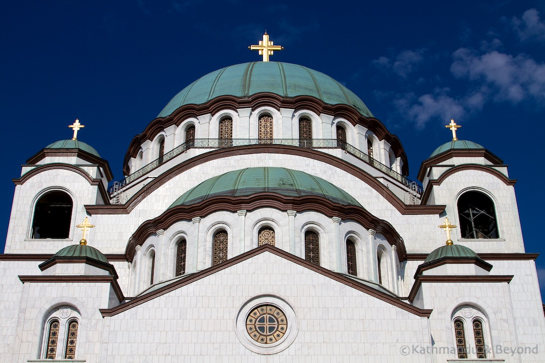 Church of Saint Sava Belgrade Serbia