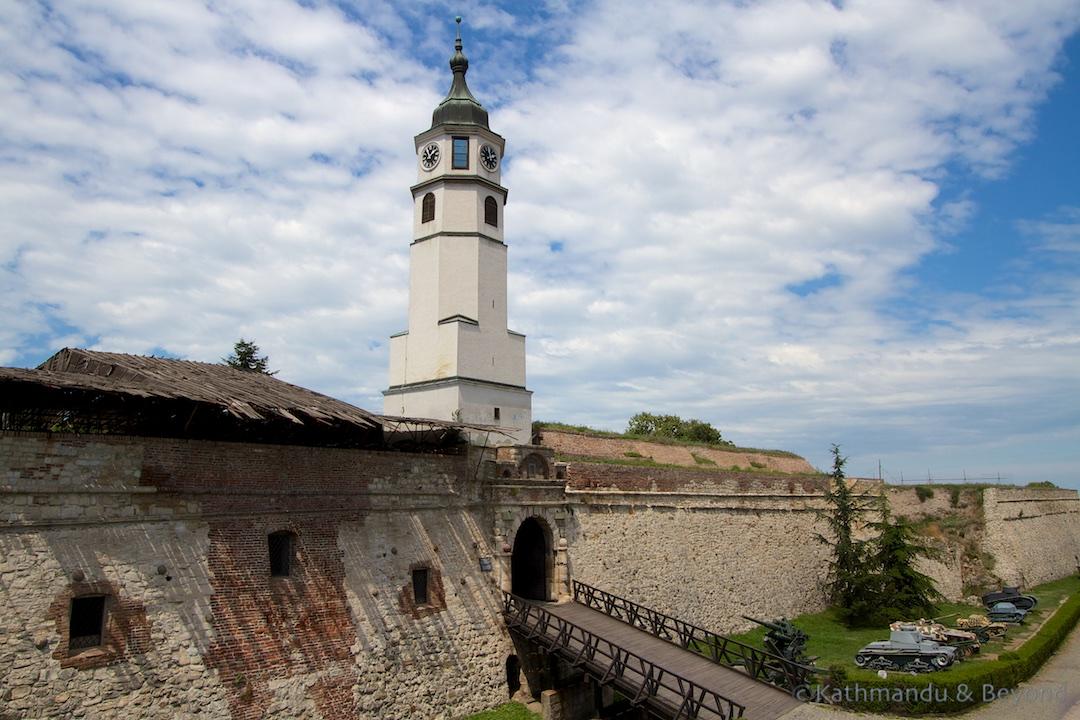 Clock Gate Belgrade Fortress Kalemegdan Park Belgrade Serbia