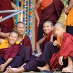 Travel Shot | Monks at Kushalnagar Tibetan settlement in India