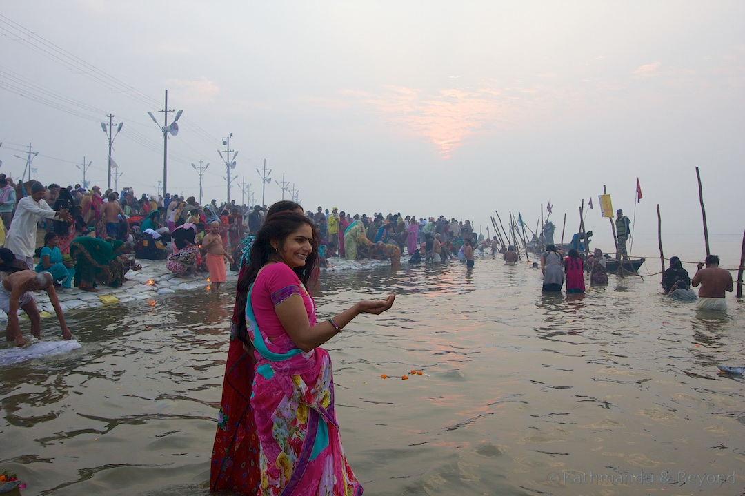 Prayers at the Ganges | Maha Kumbh Mela Sangam Allahabad India