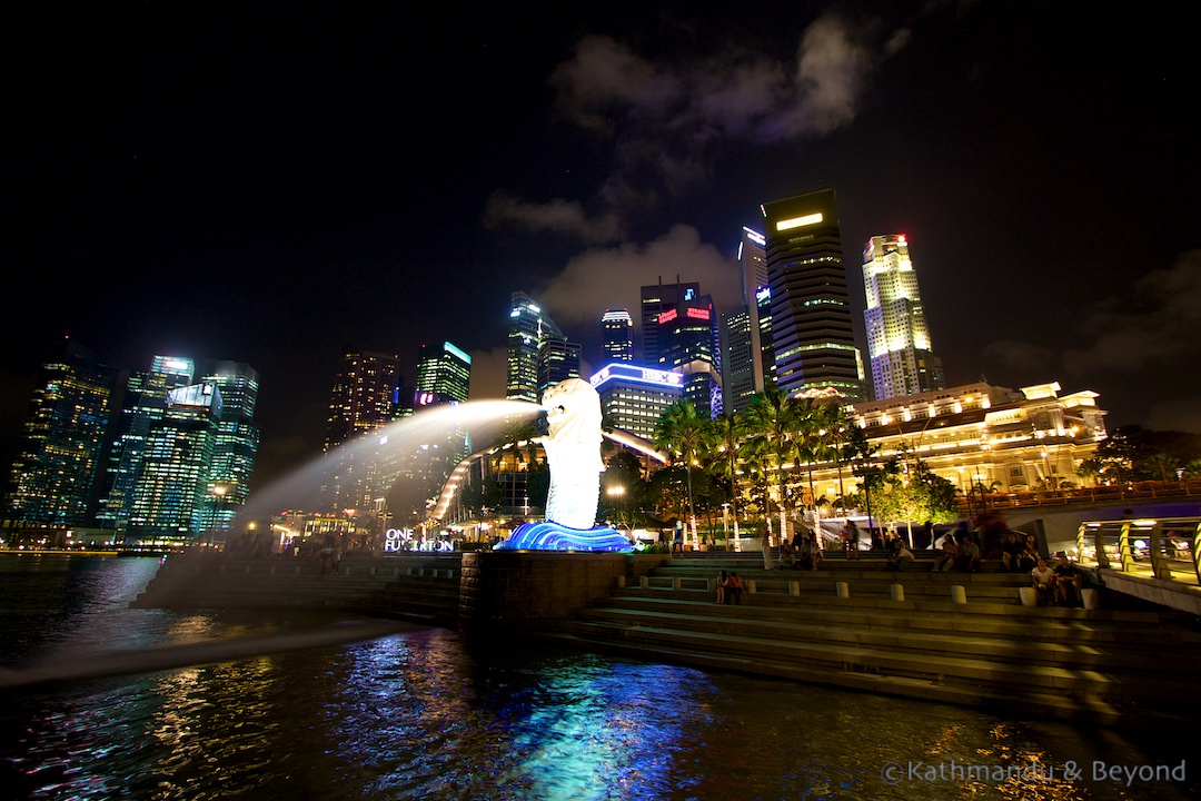 Merlion Park Singapore (2)