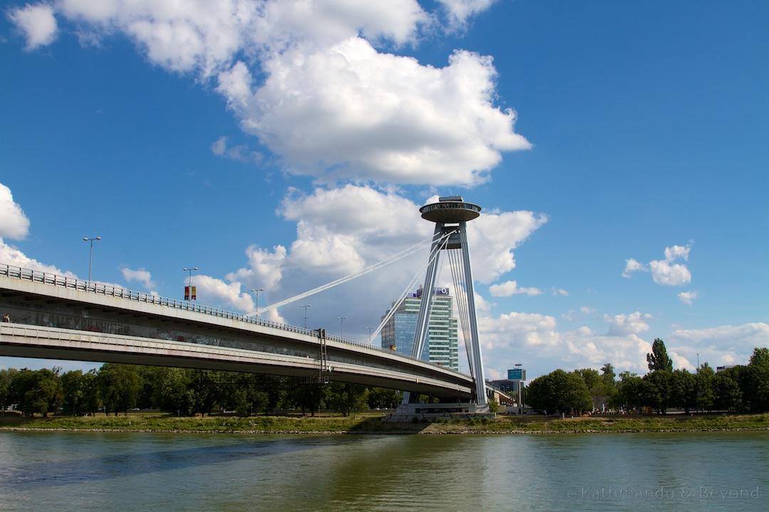 Most SNP Bratislava Slovakia