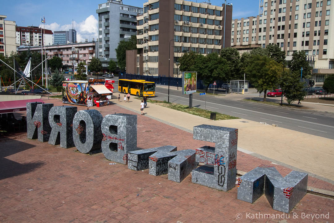 Newborn Monument Kosovo | Things to do in Pristina